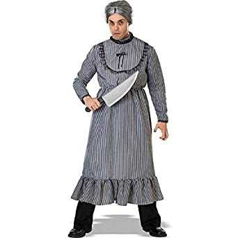 Psycho Mother's Dress Adult Costume (Standard One-Size)