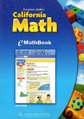 California Math EMathBook, Level 5