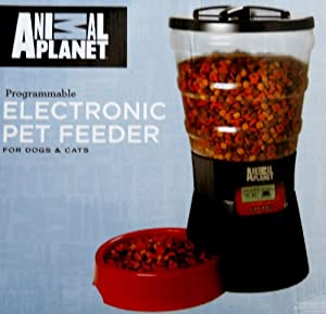Animal Planet PETS 101 Programmable Electronic Pet Feeder