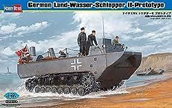 Hobby Boss Land Wasser Schlepper Ii Prototype Vehicle Model Building Kit