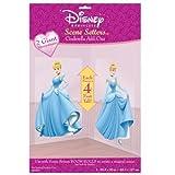 2 Giant Cinderella Add-on 4 Foot Tall Wall Murals - Disney Scene Setters