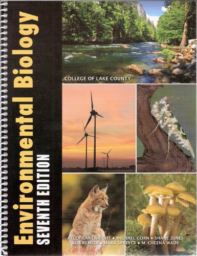 Environmental Biology 7th edition (College of Lake County)