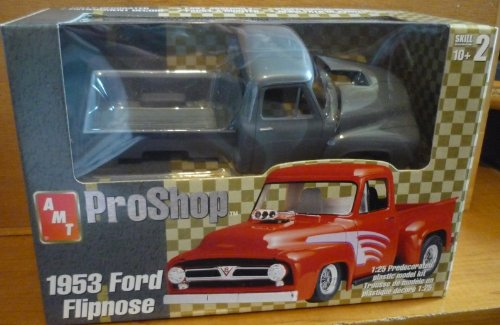 #31859 AMT Pro Shop 1953 Ford Flipnose Truck 1/25 Scale Plastic Model Kit,Needs Assembly