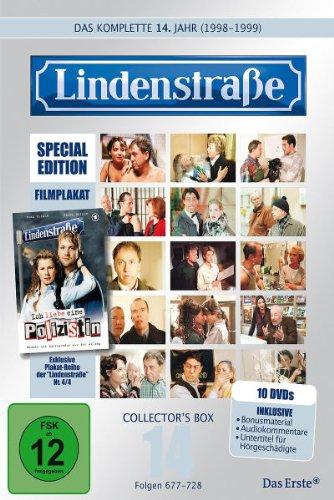 Die Lindenstraße - Das vierzehnte Jahr (Folgen 677-728) (Special Edition, Collector's Box, 10 DVDs)