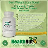 Best Hoodia Plus with Green Tea Extract 2015 Best Weight Loss Boost Natural Supplement by HealthNut Summer 2015