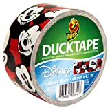 Duck Brand Mickey Mouse Duct Tape, 1.88-Inch by 10 Yards, Single Roll