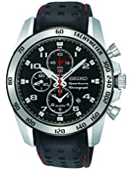 Seiko Sportura Chronograph Alarm Mens Watch SNAE65