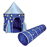 Kids Kingdom Pop-up Space Rocket Play Tent & Tunnel by Spirit of Air
