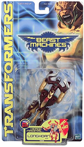 Transformers Beast Machines- Longhorn Bull - 1