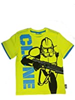 Star Wars-The Clone Wars Kurzarmshirt gelb