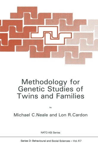 Methodology for Genetic Studies of Twins and Families (Nato Science Series D:)