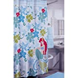 Disney Ariel the Little Mermaid Fabric Shower Curtain