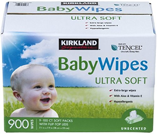 Kirkland Signature Baby Wipes, 13.8 Pound - 1
