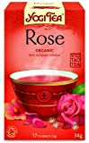Yogi Tea Rose 17 Bags (Pack of 6, total of 102 teabags)