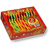 Jelly Belly Candy Cane Cherry, Green Apple and Orange flavour 170g