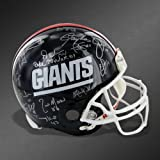 1986 NY Giants Team Signed Helmet