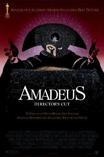 Amadeus - Movie Poster - 11 x 17