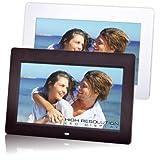 TREVI Portafoto Digital Photo Frame DPL-2220 10.2 LED Ner, SD CARD/MMC/MS,CF, USB 2.0, AVI-MPEG4, File TXT, calendario di Trevi