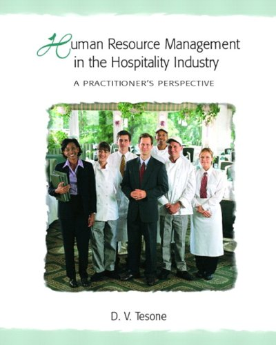 Human Resource Management in the Hospitality Industry: A...