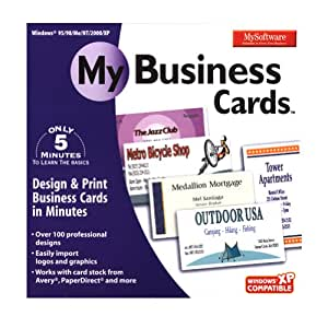 Amazon My Business Cards