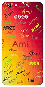 Arni (Popular Girl Name) Name & Sign Printed All over customize & Personalized!! Protective back cover for your Smart Phone : Apple iPhone 6