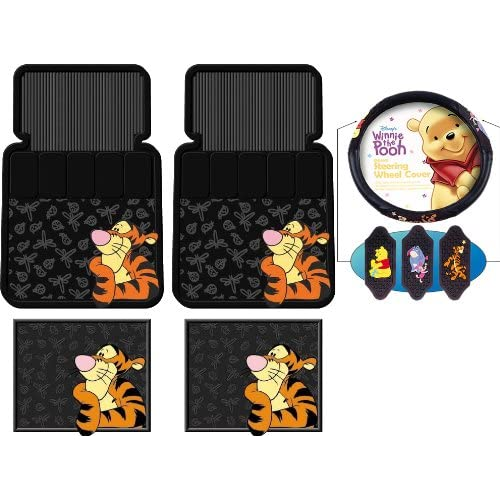 Amazon.com: 5pc Tigger Face Design Front and Rear Floor