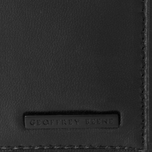 Geoffrey Beene Mens Genuine Leather Multicard Holder Wallet