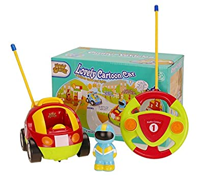 Holy Stone Rc Cartoon Race Car with Action Figure,radio Control Toy with Music Best Christmas Gift for Toddlers Kids by Holy Stone