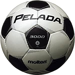molten(モルテン) ペレーダ3000 [ Pelada3000 ] エントリーモデル 4号球 白+黒 F4P3000