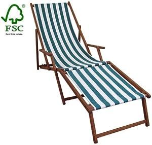 Sonnenliege Gartenliege Deckchair Saunaliege inkl. abnehmbarem Fußteil Kundenberichte und weitere Informationen