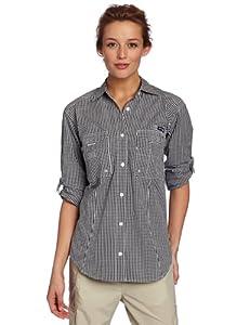 Columbia Super Bonehead Long Sleeve Shirt, X-Small, Black Gingham