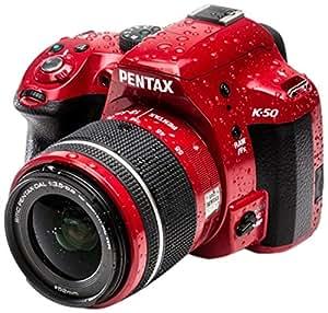 PENTAX K50 ROUGE + D-AL 18-55 WR + SIGMA 70-300 APO