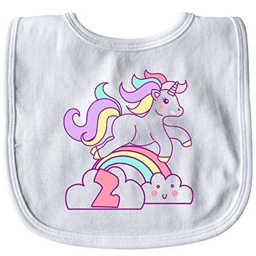 Inktastic-Baby-Girls-Unicorn-2nd-Birthday-Baby-Bib