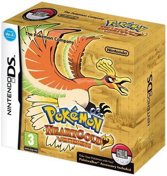 > Pokemon HeartGold - 3D Case Edition (Nintendo DS) | Games