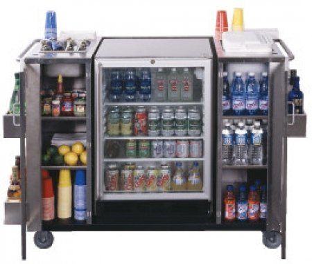 Summit Cartosscrrc Stainless Steel 61 Serving Cart With Outdoor