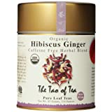 The Tao of Tea, Hibiscus Ginger Tea, Loose Leaf, 3.0 Ounce Tin