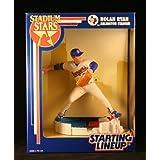 NOLAN RYAN / TEXAS RANGERS 1993 MLB Stadium Stars Starting Lineup Deluxe 6 Inch Figure with Arlington Stadium Display Base ~ Starting Line Up