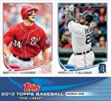 2013 Topps SERIES 1 Baseball Complete 330 Card Set in MINT Condition. Featuring all your Favorite MLB Stars including Bryce Harper, Derek Jeter, Yu Darvish, Joey Votto , Mike Trout and Many Many More!! Also Loaded With ROOKIE Cards including Manny Machado, Avisail Garcia and Many More! Makes a Great Gift!