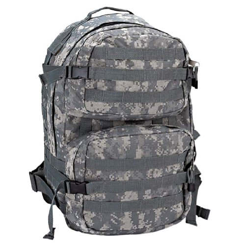 Heavy-Duty Water Resistant Digital Camo Army Backpack