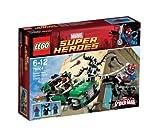 LEGO Super Heroes 76004 – MarvelSpider-Man: Persecución en la Moto Araña