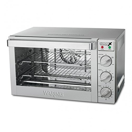 Waring Commercial WCO500X 1/2-Sheet Pan Sized Convection Oven (Commercial Small Oven compare prices)