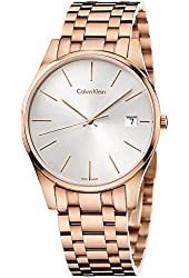 Calvin Klein ck Time Rose Gold-Tone Mens Watch K4N21646