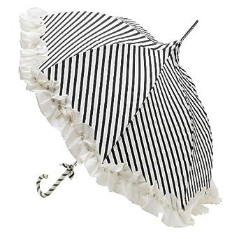 lisbeth dahl regenschirm stripy black white bekleidung. Black Bedroom Furniture Sets. Home Design Ideas