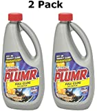 Liquid-Plumr Pro Stength Full Clog Destroyer, 32 Fl Oz (2 Pack)