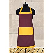Dekor World Colour Bonanza Apron (Pack Of 1 Pc)