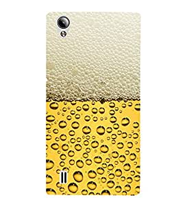 Beer Glass Fun 3D Hard Polycarbonate Designer Back Case Cover for Vivo Y15S