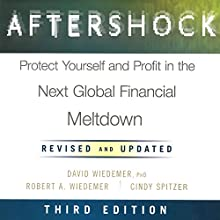 Aftershock: Protect Yourself and Profit in the Next Global Financial Meltdown (Third Edition) (       UNABRIDGED) by Robert A. Wiedemer, David Wiedemer, Cindy Spitzer Narrated by LJ Ganser