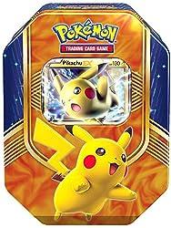 Die Tin Box enthalten:- 1 spezielle Premium Holokarte- 4 Pokemon Trading Card Game Boosterpacks- 1 Pokemon TCG Online Code Karte