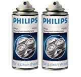 Philips HQ110 Shaver Head Cleaning Spray (2 cans)