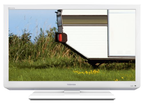 Toshiba 26DL834G 26 inch Widescreen LED TV (HD-Ready, DVB-T/-C, CI+, built in DVD-Player) white